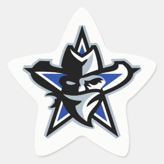 #TeamViceの基本的なステッカー 星シール