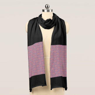 Techno Colors  Vintage Kaleidoscope  Jersey Scarf スカーフ