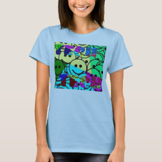 TECIIのスマイリー Tシャツ
