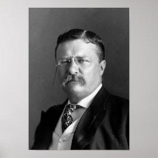 Teddy Rooseveltのポートレート- 1904年 ポスター