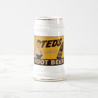 Tedsのクリーミーなルートビア ビールジョッキ
