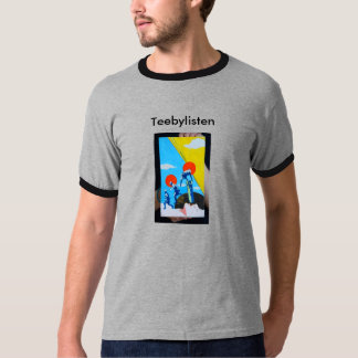 Teebylistenのプリントのティー Tシャツ