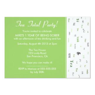 Teetotal/茶総カスタムな年はパーティーを落ち着かせます カード