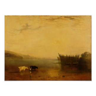 Teignmouth港、c.1812 ポスター