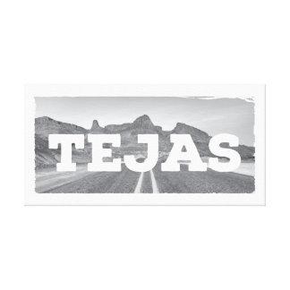 Tejasテキサス州の景色のキャンバス キャンバスプリント