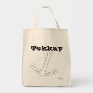 Tekkayのいかりのコレクション トートバッグ