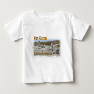 Tel Gezerの永続的な石 ベビーTシャツ