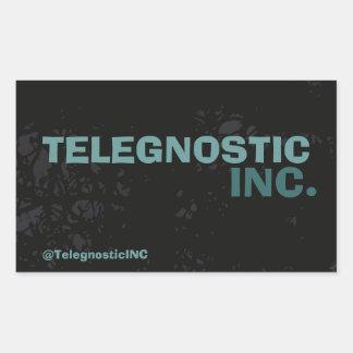 Telegnostic株式会社のステッカー 長方形シール