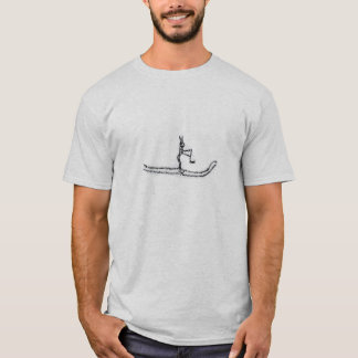 Telemarkの洞窟のスケッチ Tシャツ