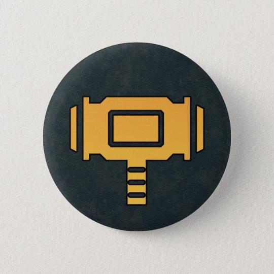 TEMPERAMENT SIGN 5.7CM 丸型バッジ
