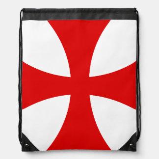 Templarの十字 ナップサック