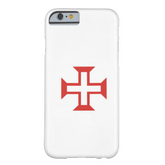 Templarの赤い十字 Barely There iPhone 6 ケース