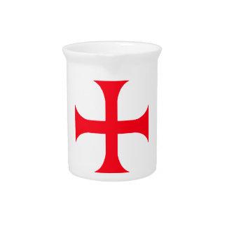 Templarの赤十字 ピッチャー