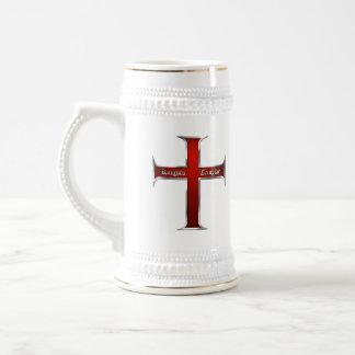 Templar Dblのロゴのマグ ビールジョッキ