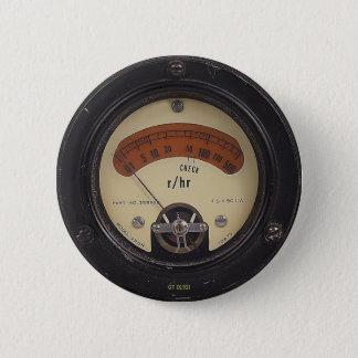 Temple's Raytheometer Pin教授の 5.7cm 丸型バッジ
