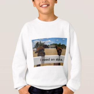 Templeton、カリフォルニアのアルパカ スウェットシャツ