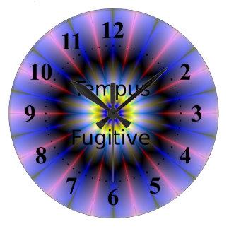 Tempusの逃亡者の時計 ラージ壁時計