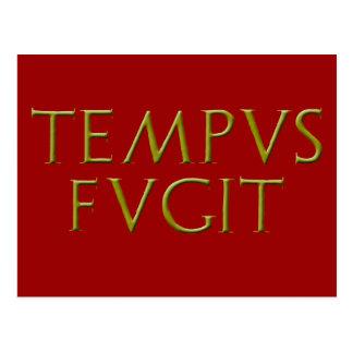 Tempus Fugitの郵便はがき ポストカード
