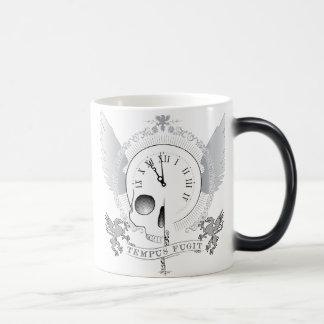 Tempus Fugit (時間は飛びます) モーフィングマグカップ