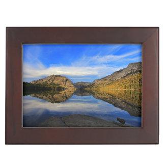 Tenaya湖の反射 ジュエリーボックス