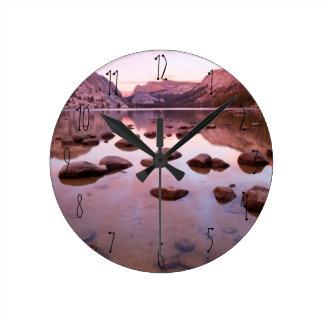 Tenaya湖 ラウンド壁時計