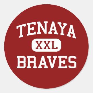 Tenaya -ブレーブス-中間-フレズノカリフォルニア ラウンドシール