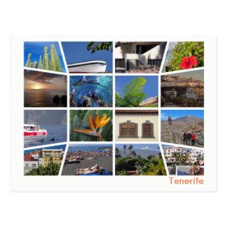 Tenerife multi-image ポストカード