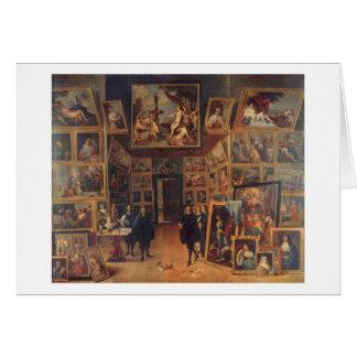Teniersより若いの- Erzherzog Leopoldウィルヘルム カード