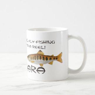 Tenkaraのはえの魚釣りのマグ コーヒーマグカップ