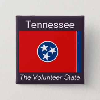 Tennesseeanの旗ボタン 缶バッジ