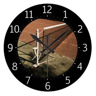 Tennis Time | Sport Cool Gifts ラージ壁時計