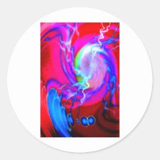 tentacled渦 ラウンドシール