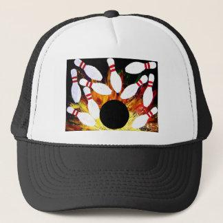 Teoアルフォンソ著ボーリングボールの殴打の帽子の帽子 キャップ
