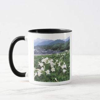 Teppoユリ(ユリ)、Yakushima、鹿児島、日本 マグカップ