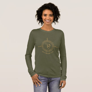 tequestaのワイシャツの概念 長袖Tシャツ