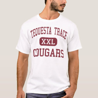 Tequestaの跡-クーガー-中間- Westonフロリダ Tシャツ