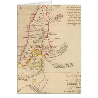 Terre Sainteのdivisee enのroyaumesのd'Israel カード