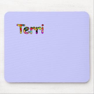 Terriのコンピュータ付属品の紫色のマウスパッド マウスパッド