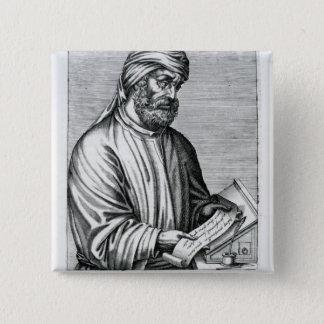 TertullianのアンドレThevetからのイラストレーション 5.1cm 正方形バッジ