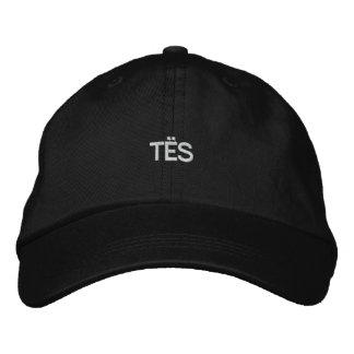 TËS_Clothingの帽子 刺繍入りキャップ