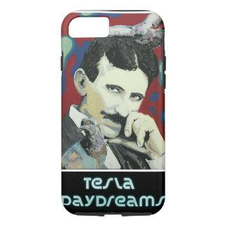 「Teslaによって」は携帯電話の箱が空想にふけります iPhone 8/7ケース