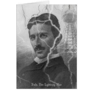 Teslaの稲妻の人 カード