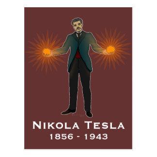 Teslaの郵便はがき ポストカード