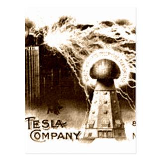 Teslaレターヘッド ポストカード