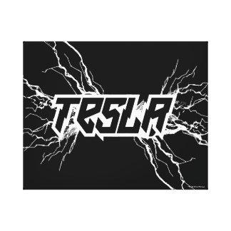 Tesla キャンバスプリント