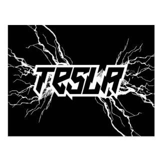 Tesla ポストカード