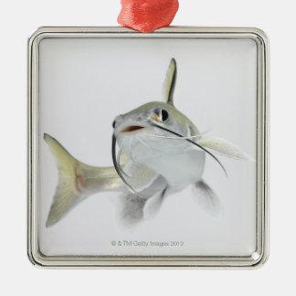 Teteの海ナマズ(Hexanematichthysのseemanni) 2 メタルオーナメント