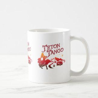 Tetonのタンゴのマグの赤 コーヒーマグカップ