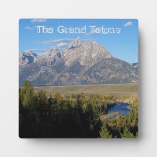 Tetonの壮大なプラク フォトプラーク