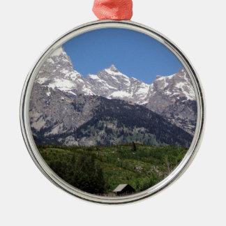 Tetonの壮大な国立公園 メタルオーナメント